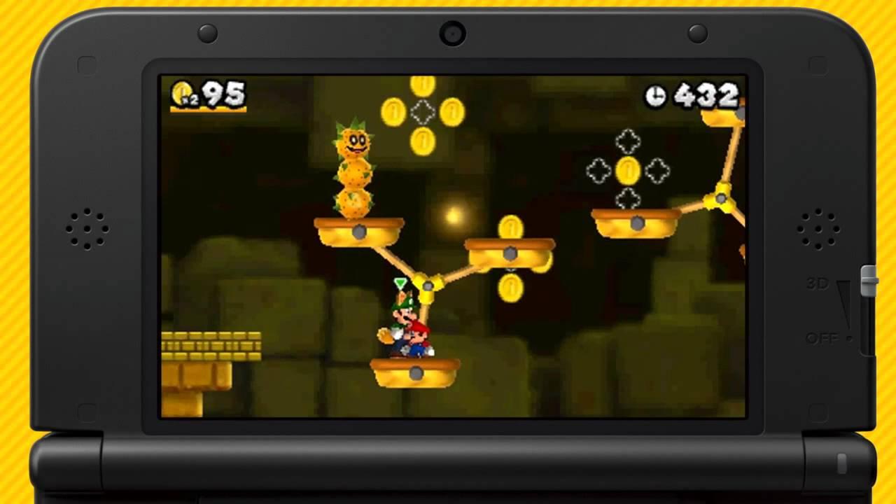 New Super Mario Bros 2 Nintendo 3ds Asi Funciona El Modo