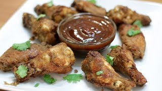 How to Make Chicken Wings  Easy Homemade Oven Baked Crispy Wings Recipe