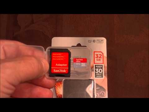 SanDisk Ultra Class 10 UHS-I 16GB microSDHC memory card with Adapter Review & Speed Testиз YouTube · Длительность: 3 мин28 с