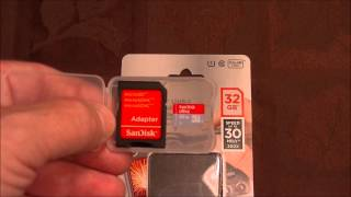Sandisk 32GB Ultra Micro SDHC UHS -1 Class 10 Card With Adapter