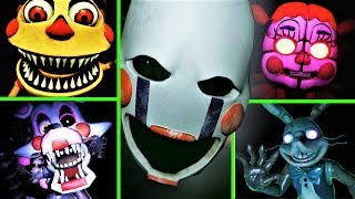 FNAF VR: Help Wanted\'s Scariest Moments and here\'s why... (Top Scary Five Nights at Freddy\'s)