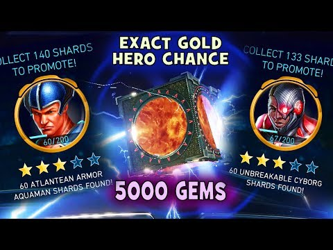 Injustice 2 Mobile 1.5 Update: HUGE Chest Opening. Gold Hero Chance and Number of Shards explained.