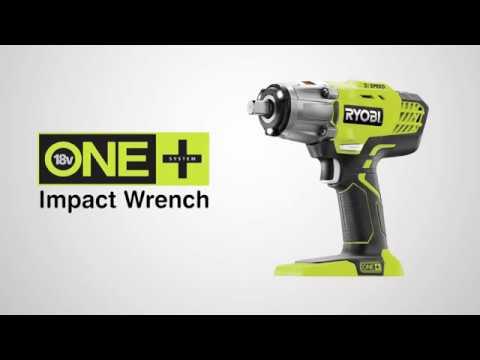 Ryobi Impact Wrench – 18V Cordless (Review) | WG