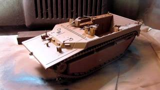 Building Dragon Lvt-4 Water Buffalo In 1/35 Scale. Complete From Start To Finish