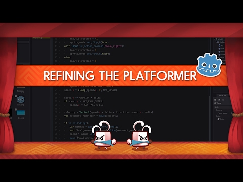 How to do double jumps and flip the character - Godot platform game tutorial