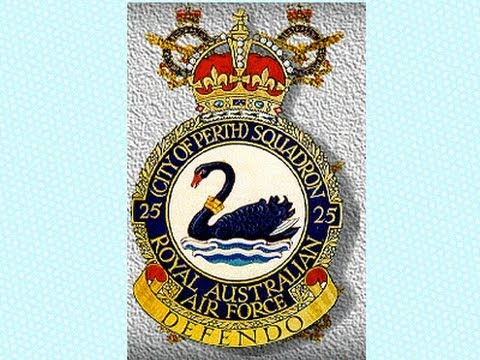 "History of 25 Squadron RAAF ""City of Perth"""