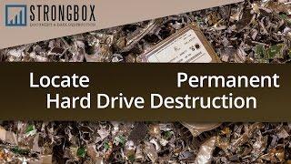Strongbox Hard Drive Destruction Video