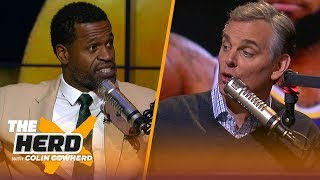 Stephen Jackson says he was better than Ray Allen, talks Kuzma as LeBron's #2 | NBA | THE HERD