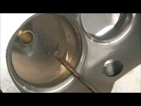 "ProComp 190 ""2.05 intake Valve"" and underseat Cure Part 3"