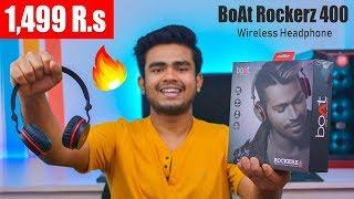 Boat Rockerz 400 Bluetooth Headphones Unboxing amp Review 2019 Best Headphones Under 1500 R s