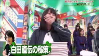 + 18 【欅坂46 】大食いメンバーで一斉に、くま落としするシーンが妙に...