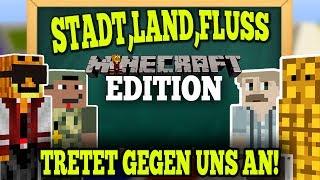 TRETET GEGEN UNS AN! - Stadt,Land,Fluss in Minecraft