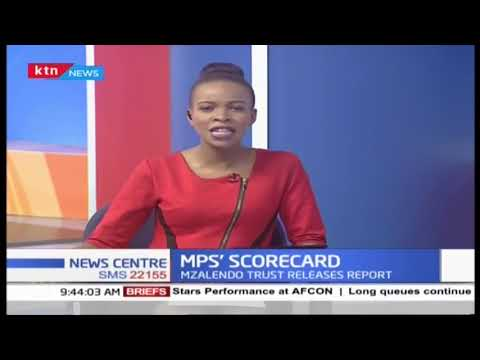 MPS' SCORECARD: Mzalendo trust releases report showing active and silent MPS | PART 1