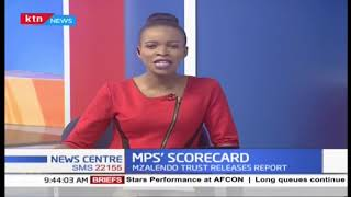 MPS\' SCORECARD: Mzalendo trust releases report showing active and silent MPS | PART 1