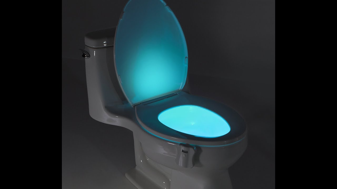 Review Glowbowl Motion Activated Toilet Nightlight Fits Any
