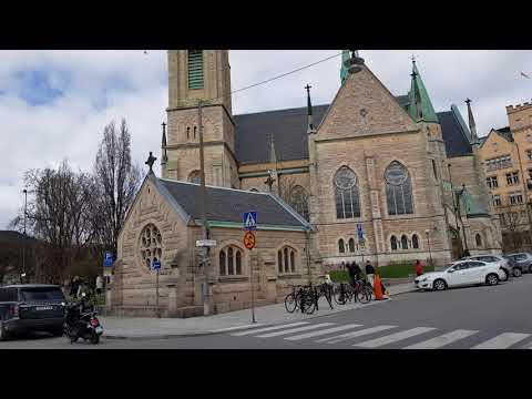 "Swedish Church honoring Avicii / Tim Bergling where he grew up in Stockholm ""Wake Me Up"""