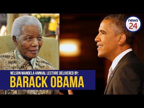 WATCH LIVE: Barack Obama speaks at Nelson Mandela centenary celebrations in Joburg