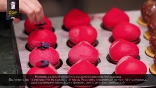"""Видео-рецепт пирожного """"Мирта"""" от Сесиль Фаркас"""