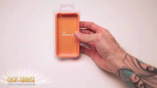 Bumper orange pour Apple Iphone4 - store.logic-sunrise.com