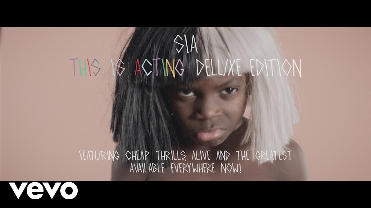 Sia - This Is Acting - YouTube