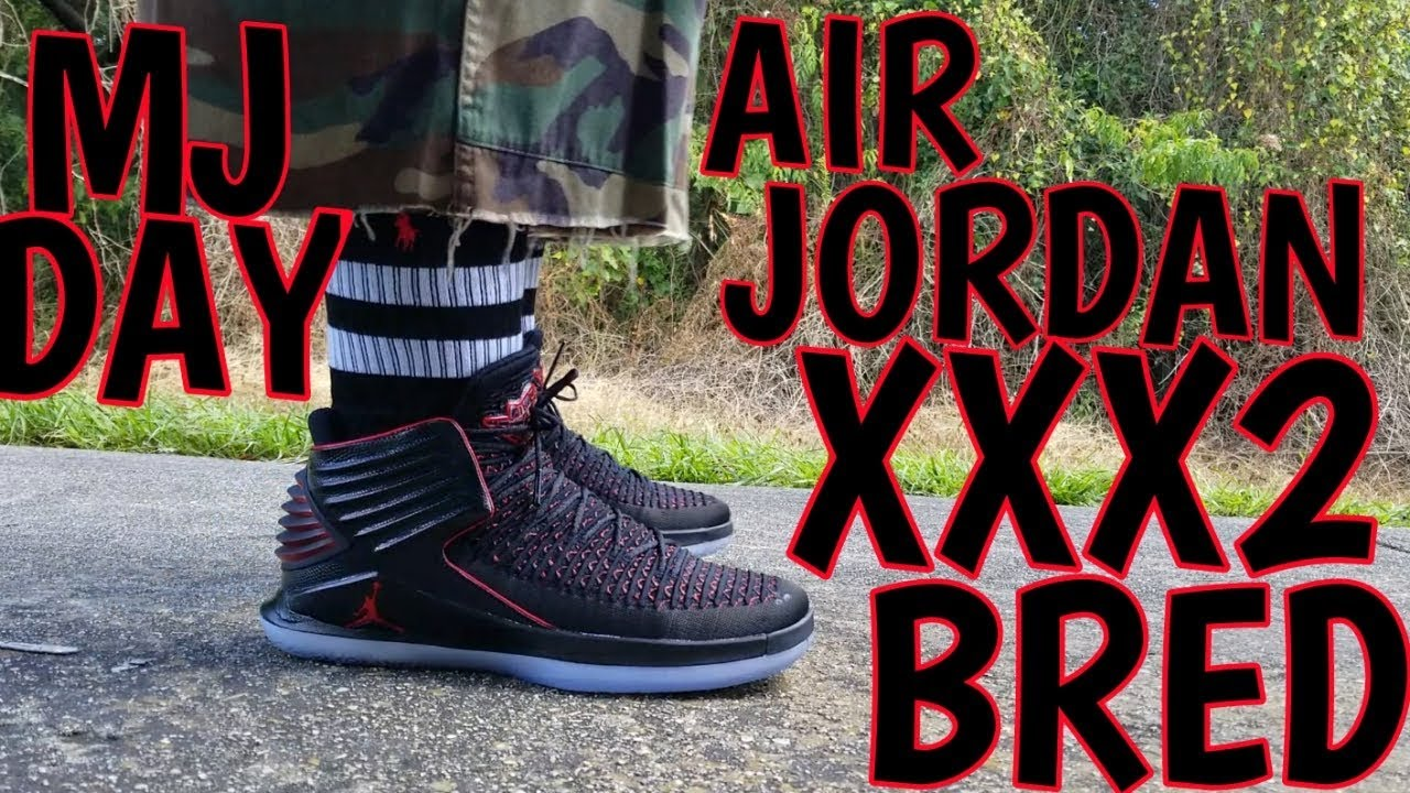AIR JORDAN XXX2 BRED UNBOXING AND ON FEET