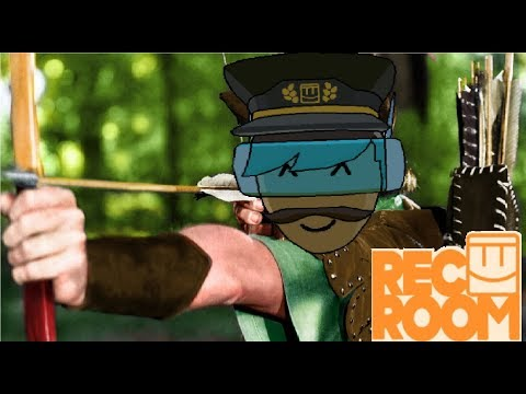 New Archery Game in Rec Room! (HTC Vive Gameplay)