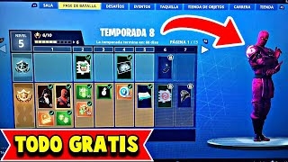 COMMENT À GET FORTNITE'S GRATUIT SEASON 8 BATTLE PASS GRATUIT FORTNITE PAVOS (Ps4/Pc)