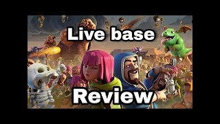 🔴Live base review 🔴 and Attacks🔴 Clash of Clans