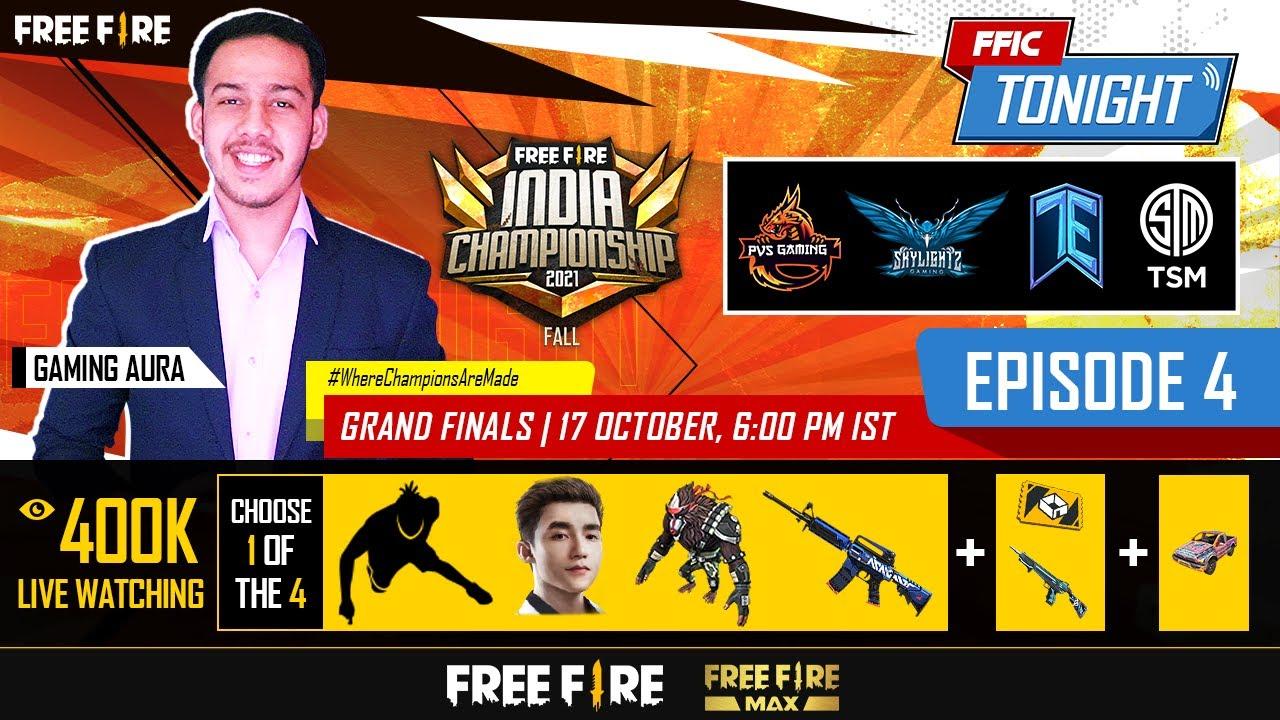 FFIC Tonight   Episode 4   Free Fire India Championship 2021 Fall