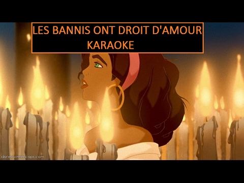 [Karaoke] Les bannis ont droit d'amour - Le bossu de Notre-Dame