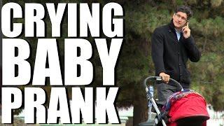 CRYING BABY PRANK!!