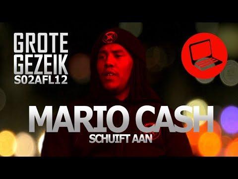 MARIO CASH Schuift Aan, Over Josylvio, Boef, Bizzey, 'Underrated'   Grote Gezeik S02 AFL.12