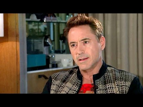 Robert Downey Jr. Storms Off During Interview - iO Radio