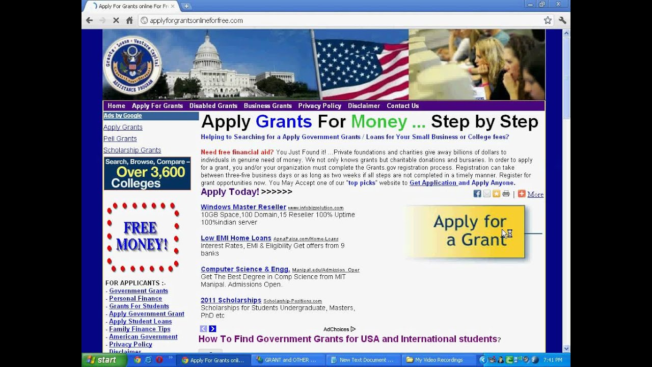 how to find grants to apply for