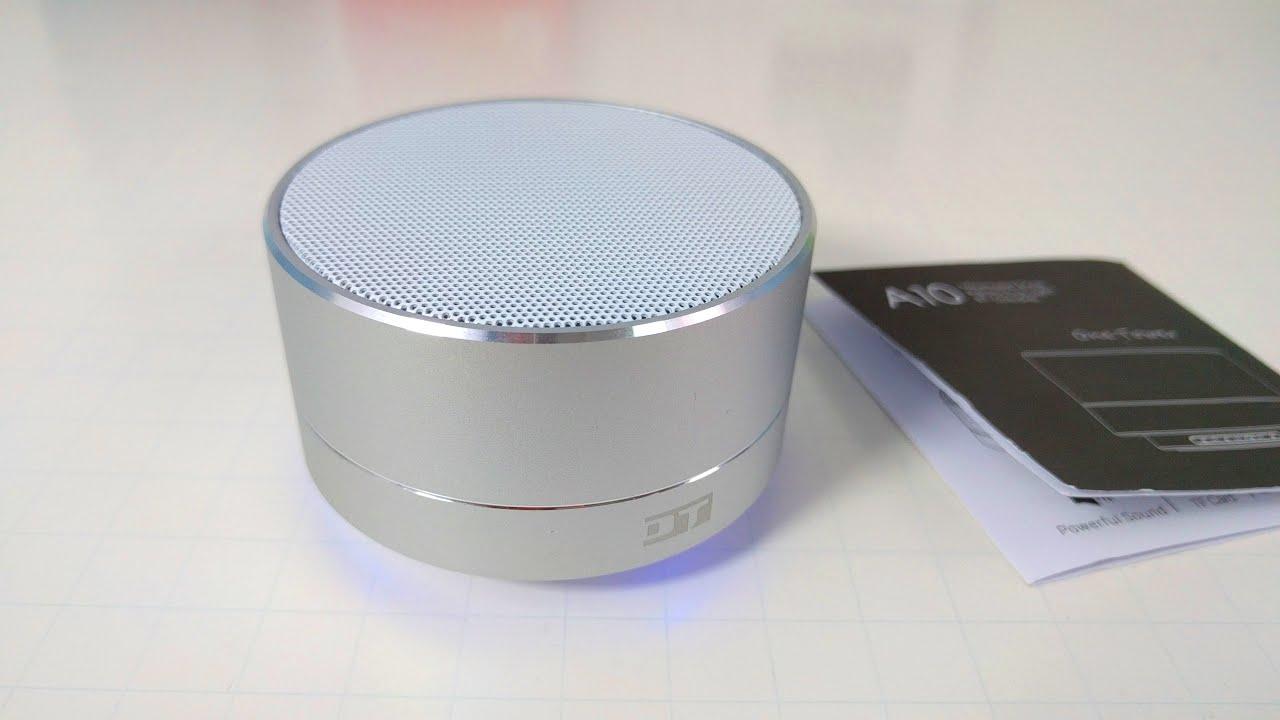 DT A10 Bluetooth Speaker REVIEW - Under $9