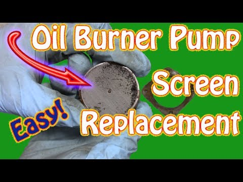 How to Replace a Heating Oil Burner Pump Screen - Biasi Boiler and Riello Burner Maintenance Part 2