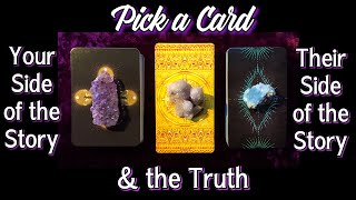 PICK A CARD 💞 YOU, THEM, AND THE TRUTH ABOUT YOUR CONNECTION! 🤭 🎼🎧🎶