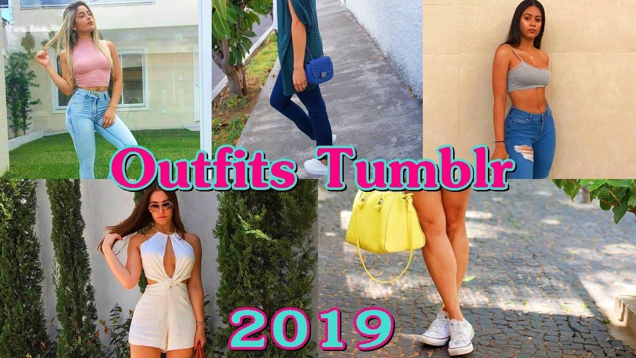 OUTFITLS TUMBLR 2019 CASUALES PARA MUJER - Tendencia Juvenil