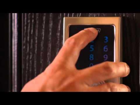 Schlage Touchscreen Deadbolt User Programming YouTube