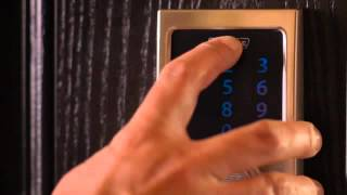 Schlage Touchscreen Deadbolt User Programming