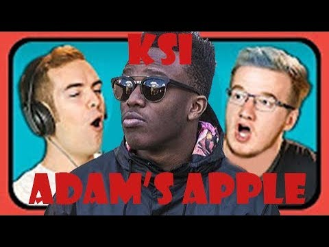 Youtubers React To KSI - Adam's Apple (NetNoBody Diss Track)