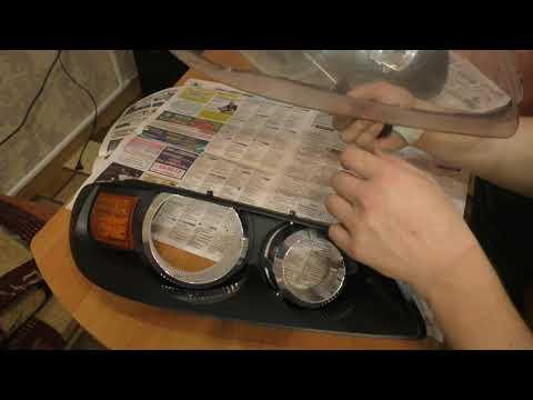 Как снять фару на ниссан альмера н16 видео