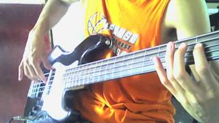A Wilhelm Scream - Our Ghosts (Bass Cover)