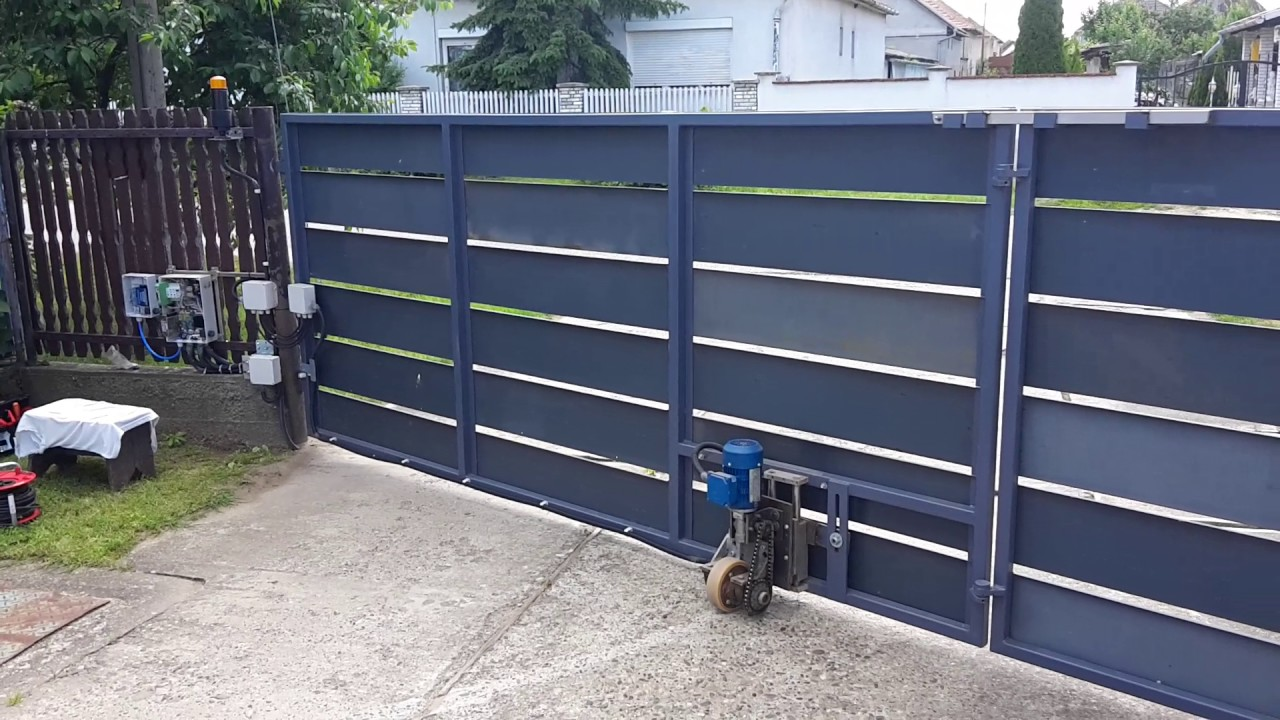 Homemade Gate Opener DIY (+Add RTU5024