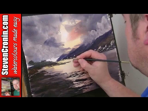 Quick and simple watercolour landscape techniques