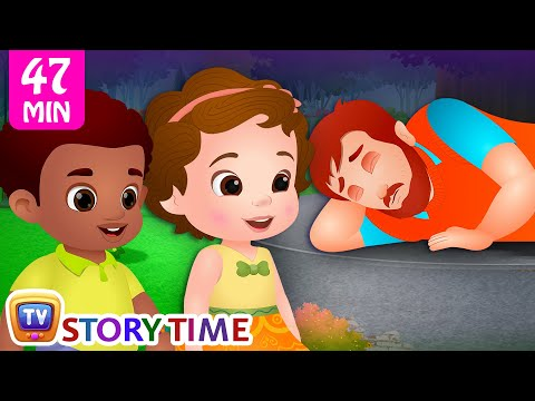 Man In The Park and Many More Bedtime Stories for Kids in English | ChuChu TV Storytime for Children