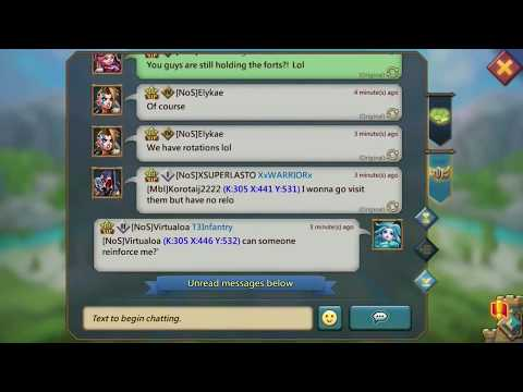 Lords Mobile Trap - KvK / The Thirst For 90 Mil Gold Bounty!!!
