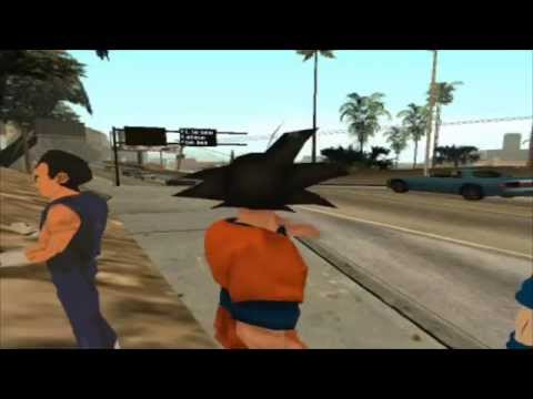 Dragon Ball Z: La Batalla De Los Dioses   GTA SA   loquendo   Capitulo 01