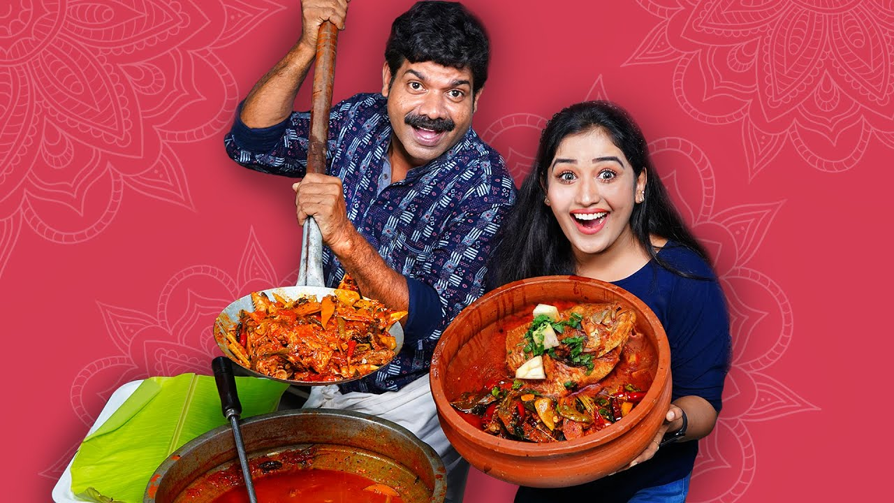 Download അനുക്കുട്ടിയും തലക്കറിയും | Fish Thala Curry With Anukutty | Kishore Cooking