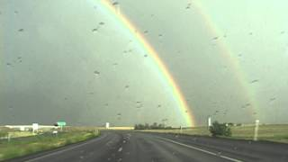 Double Rainbow Chase through Colorado
